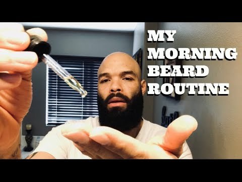 My Morning Beard Routine / Using Oil & Balm