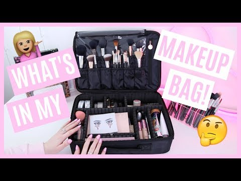 WHAT'S IN MY MAKEUP BAG 2017 | HANNAH SCHRODER