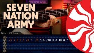 SEVEN NATION ARMY - The White Stripes Guitar TABS   Cover Guitara Christianvib