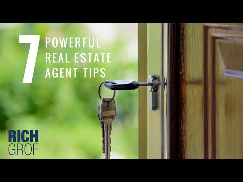7 Powerful Real Estate Agents Tips - Sales Techniques of the Real Estate Masters