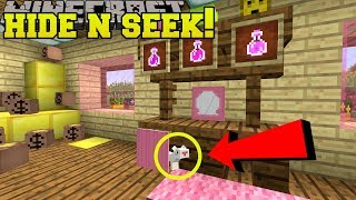 Minecraft: FERRETS HIDE AND SEEK!! - Morph Hide And Seek - Modded Mini-Game