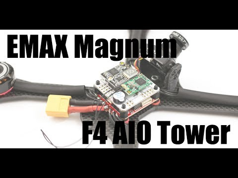 EMAX Magnum F4 Tower Review and Build