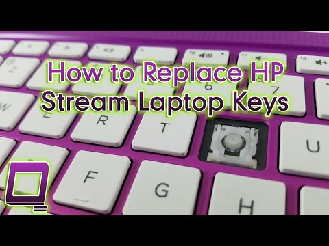 How to Replace HP Stream Laptop Keys