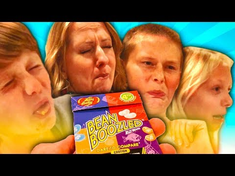 🤮 The ULTIMATE Gross-out Challenge - A Few Losers Play a Game of Bean Boozled!