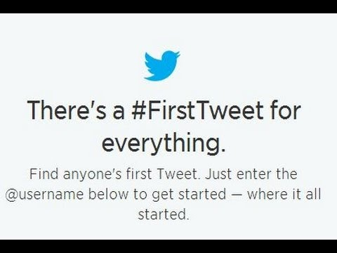 How to Discover the first Tweet you made on Twitter