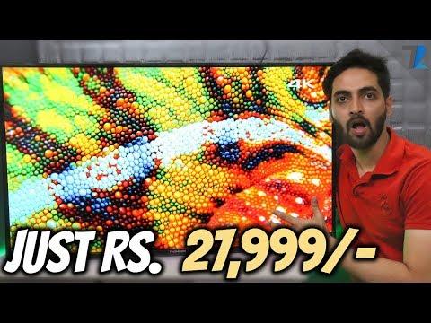 India's Cheapest 4K UHD Smart LED TV - Thomson 43
