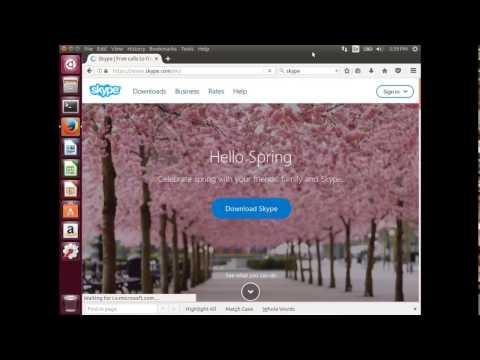 How to Install Skype in Ubuntu 18.04 17.04 16.04