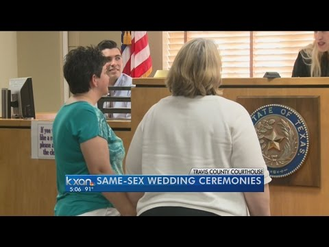 Judge Gisela Triana conducts weddings for same-sex couples