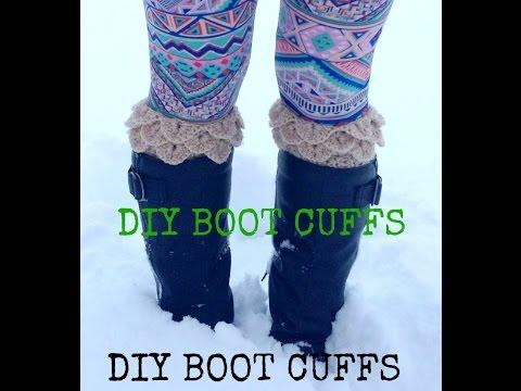 How to Crochet Boot Cuffs