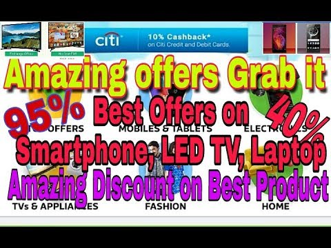 Amazing offers on Flipkart, Amazon, Up to 95% Discount on Fashion, Best Budget Smartphone, LED TV