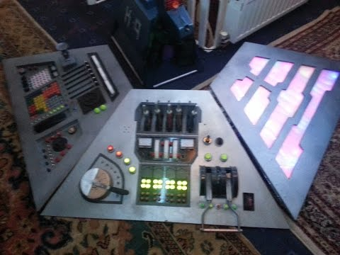 TARDIS console build part 2