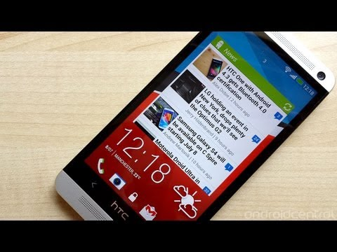 How to get lock screen widgets on the HTC One