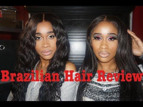 BOMB Brazilian Hair Review - Jennifer King Hair   NaeandNea