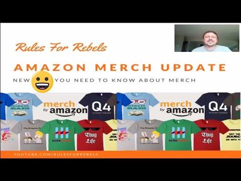 Amazon Merch Update - Policy Updates, New Design Program, New Bulk Uploader, and More
