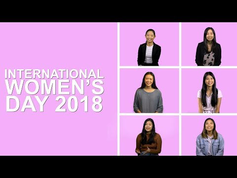 International Women's Day 2018 - Press For Progress