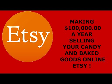 How to Make $100,000.00 a year Selling Candy and Baked goods online
