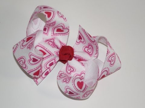 How To Make A Little Girl Boutique Hair Bow