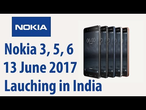 Nokia 3, Nokia 5 & Nokia 6 India Launch on 13 June (Pricing Leaked)