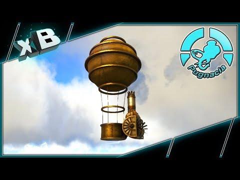 AWESOME STEAMPUNK AIR BALLOON! :: MODDED ARK: PUGNACIA :: Ep 26