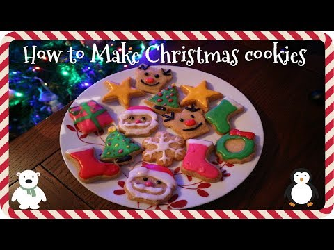 How to make Christmas cookies/Biscuits