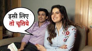Zareen Khan ने दी Gautam Rode को सबके सामने गाली - Aksar 2 Interview