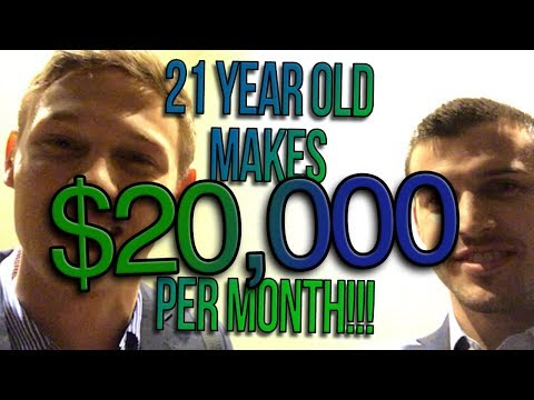 21 Year Old Insurance Agent Makes $20,000 a Month!!!