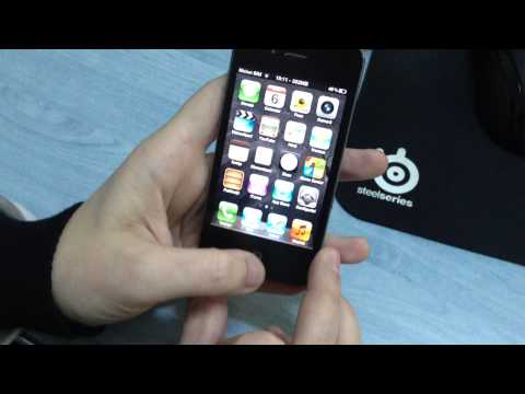 iPhone 4 - Home button test after cleaning with isopropyl
