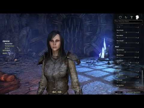 How To Create an Asian Character In Elder Scrolls Online (Imperial)