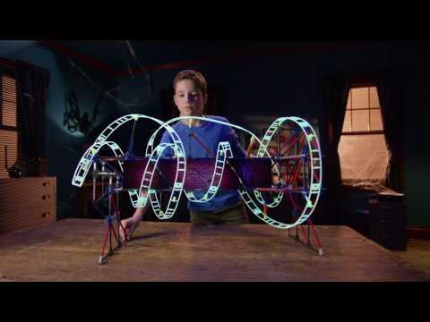 Web Weaver Roller Coaster Building Set UK TV ad