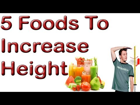 5 Foods To Increase Height - Grow Taller Naturally