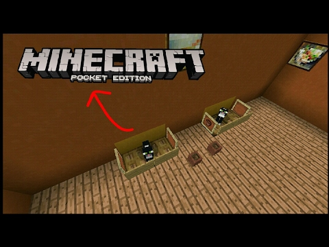 How to build a Cat Bed-Minecraft Pocket Edition