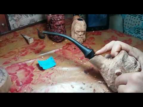 How to carve a King Kong Pipe ...out of briar wood