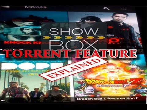 Showbox New torrent feature Explained/how to use torrents on showbox