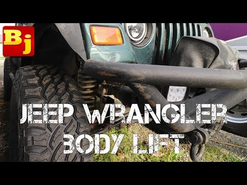 Jeep Wrangler Body Lift
