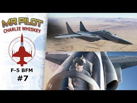 DCS: F-5E Mixed Reality 07 vs. FULCRUMS