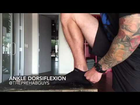 Improving Ankle Dorsiflexion
