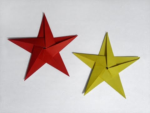 How to make: Paper 5-Pointed Star