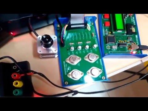 Stepper Motor Control using 8051
