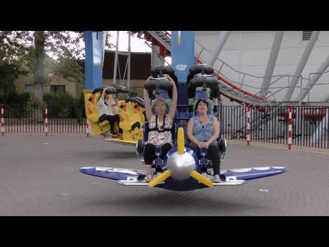 AIR RACE, Drayton Manor 2015. (Double Screen Edit).