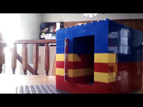 Lego safe/ with id card
