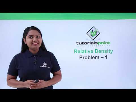 Class 9th Physics - GRAVITATION - Relative density problem 1