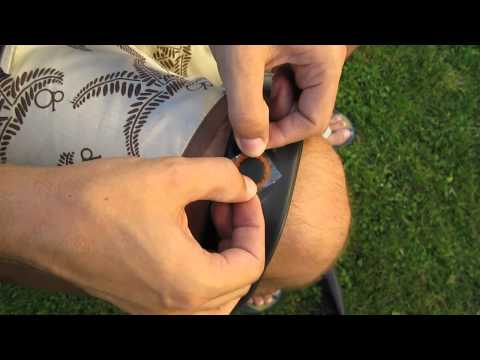 How to patch an inner tube - flat tire