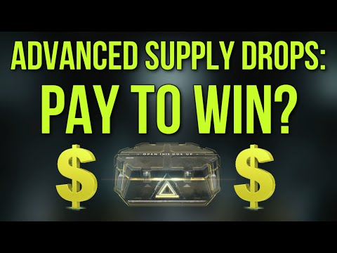 Advanced Supply Drops: Pay To Win? (Advanced Warfare Gameplay Commentary)