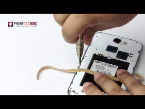 Phone Doctors Tech Tips - How to remove a stripped screw with a rubber band