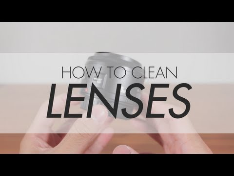 How To Clean Lenses (Basic Guide)