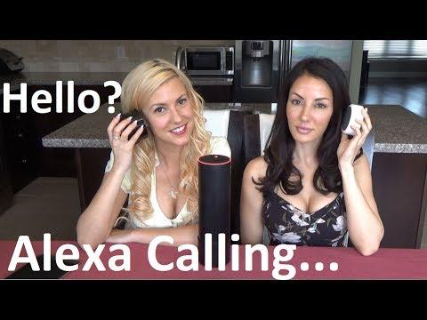Amazon Echo Phone Calling and Alexa messaging Echo Spot