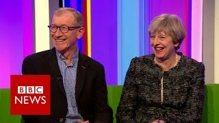 The Mays on love, shoes, and who takes the bins out - BBC News