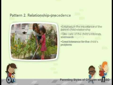 Parenting Styles in Families with Children with Autism Spectrum Disorders_English version