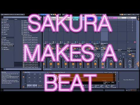 Sakura Makes A Beat