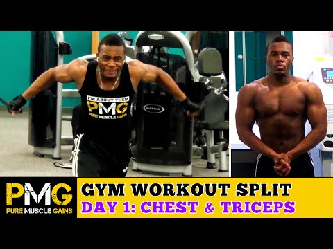 The Gym Split: Day 1 - Chest, Triceps & Abs | 4 Day Split Workout